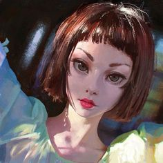 Art by Ilya Kuvshinov*  • Blog/Website   (www.kr0npr1nz.tumblr.com) • Online Store   (www.society6.com/kr0npr1nz) ★    CHARACTER DESIGN REFERENCES (www.facebook.com/CharacterDesignReferences) invites you to support the Artists and Studios featured here by buying this and other artworks in their official online stores • Find us on www.pinterest.com/characterdesigh   www.youtube.com/user/CharacterDesignTV and learn more about #concept #art #animation #anime #comics    ★