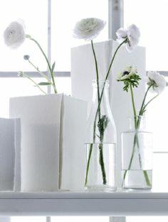   P   Simple White Flowers / Anders Schønnemann Photography