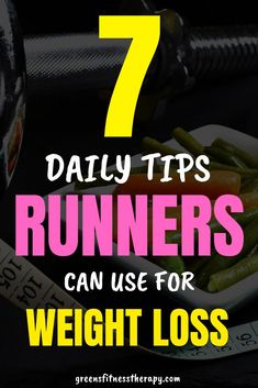 Tips for runners to help lose weight. Litle daily habits you can adopt to help ou achieve your weight loss goals.