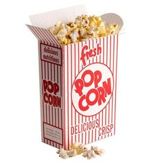 50 Count Retro Popcorn Boxes Party Birthday and by creativeexpres, $14.95