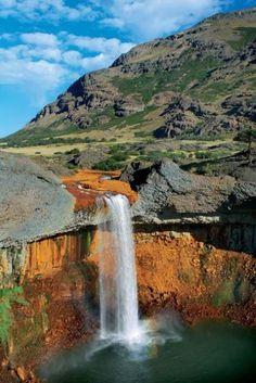 Salto del Agrio, Caviahue y Copahue , Neuquén, Argentina