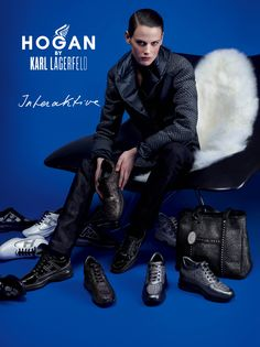 HOGAN by Karl Lagerfeld Fall-Winter 2012/13 Women's Campaign
