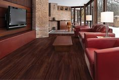Laminique Hybrid Flooring  High Performance with style! All the  best qualities of laminate and vinyl!  12 beautiful wood floor visuals.