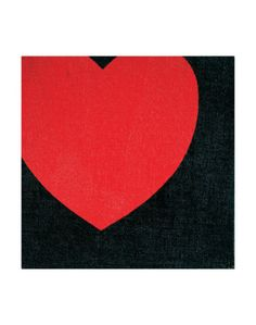 Heart, c.1979 Art Print by Andy Warhol. #HBmine