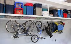 SafeRacks porciones garage tradicional y Derramada