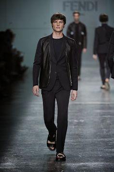 Fendi Men's Spring/Summer 2015 Fashion Show