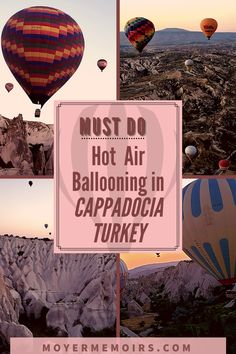 This is a Bucket List item in Cappadocia Turkey that you MUST DO! It is well-known as the balloon ride capital of the world due to the sheer number of hot air balloons going up to view the beautiful Turkish landscape at sunrise each day of the year. This is the most popular activity in Cappadocia, so keep reading for all you need to know about a Turkey hot air balloon ride.Turkey balloon ride, Turkish balloon ride, Cappadocia balloon ride, hot air ballooning Cappadocia turkey balloon ride Packing List For Travel, Europe Travel Guide, Asia Travel, Solo Travel, Travel Destinations, Cappadocia Balloon, Cappadocia Turkey, Istanbul Turkey, Air Balloon Rides