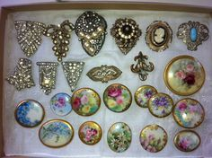 More pieces I am working with... soon to become necklaces or bracelets :)