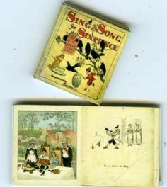 Sing a Song of Sixpence mini book £2