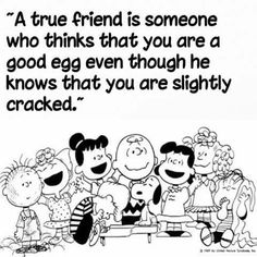 "Reminds me of my momma saying ""you're a good egg, Charlie Brown"" as one of her ways of ""I love you"" 😊 Peanuts Quotes, Snoopy Quotes, Snoopy Love, Snoopy And Woodstock, Snoopy Pictures, Snoopy Images, Funny Quotes, Life Quotes, Hug Quotes"