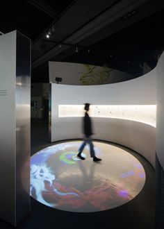 proyector en el piso o en el domo desde afuera con logo