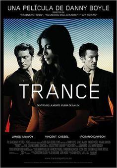 #Trance #Estrenos de la cartelera de cine española del 14 de Junio de 2013. Pincha en el cartel para ver el tráiler