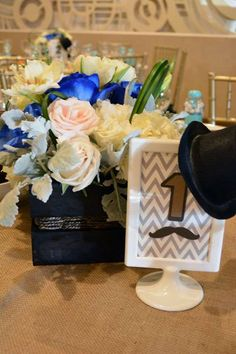 Mustaches / Little Man Birthday Party Ideas | Photo 3 of 20