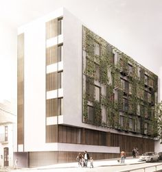 Terradas Arquitectos > Edificio de viviendas en Via Augusta, Barcelona