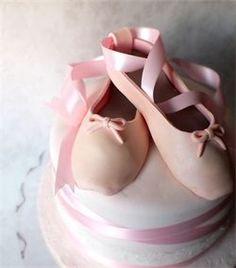 Free downloadable fondant ballet slipper tutorial