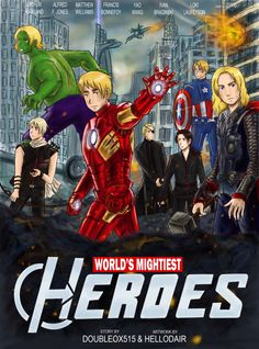 Avengers-Hetalia Google search