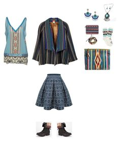 """""""ethnic2"""" by explorer-14448755861 on Polyvore featuring Rumour London, Kenzo, Casetify, maurices, Diva Lounge, Totem and Hale Bob"""