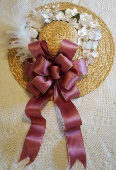 Victorian Delights - Premium Silk Floral Hats