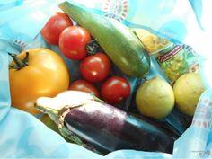 Kunterbuntes Gemüse vom Markt