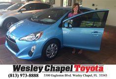 https://flic.kr/p/FXRTru | #HappyBirthday to Lorann from Yuri Acosta at Wesley Chapel Toyota! | deliverymaxx.com/DealerReviews.aspx?DealerCode=NHPF