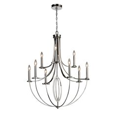 ELK Lighting 10159/6+3 9 Light Dione Chandelier