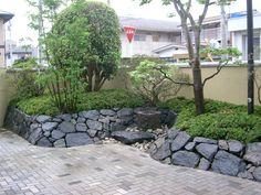 宮城県蔵王町・造園、植木のことなら竹鳳園|造園工事施工例|駐車場に植栽スペースをつくる