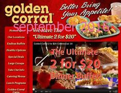 Free Printable Coupons: Golden Corral Coupons