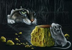 Do You Want Cheese by Irina Garmashova-Cawton