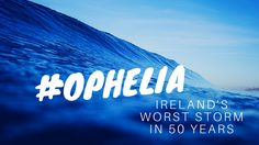 16th October 2017 will be a day remembered in Ireland for Ophelia. She made landfall from the south of the country bringing warm temperatures and raging winds with the entire country under a red weather alert. It was a day to work at home for many as Ex-Hurricane Ophelia battered Ireland and made us stand up and take notice of her strength. Social media provided an invaluable real-time news outlet for all Irish citizens. So I decided to analyse how social media reported Ophelia in Ireland…