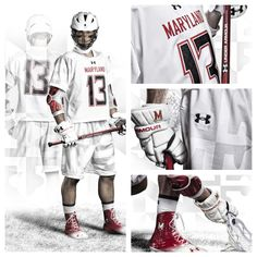 Maryland Lacrosse White Ops Uniforms