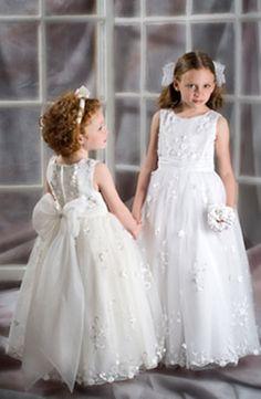 Junior Bridesmaid Dresses with Bling