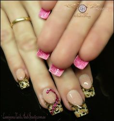 Now THESE are Nails!! LOVE THIS!!!