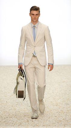 perfect summer suit by ermenegildo zengna