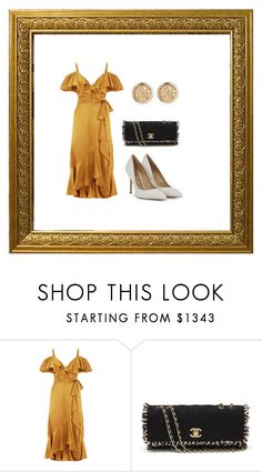 GOLDEN by anne-maren-weisser-fredriksen on Polyvore featuring Temperley London and Chanel Temperley, Chanel, Ootd, London, Shoe Bag, Polyvore, Stuff To Buy, Shopping, Collection