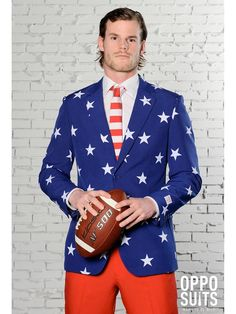 Check out Men's Opposuits Stars & Stripes Suit Costume - Popular Costumes for Adults from Costume Super Center