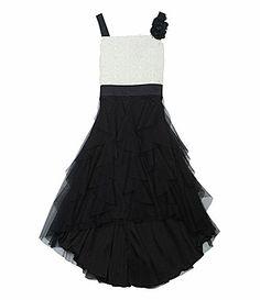 Rare Editions 716 Soutache Dress #Dillards