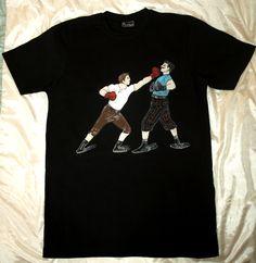 Vintage boxing Vintage Box, Boxing, Hand Painted, Clothing, Mens Tops, T Shirt, Fashion, Outfits, Supreme T Shirt