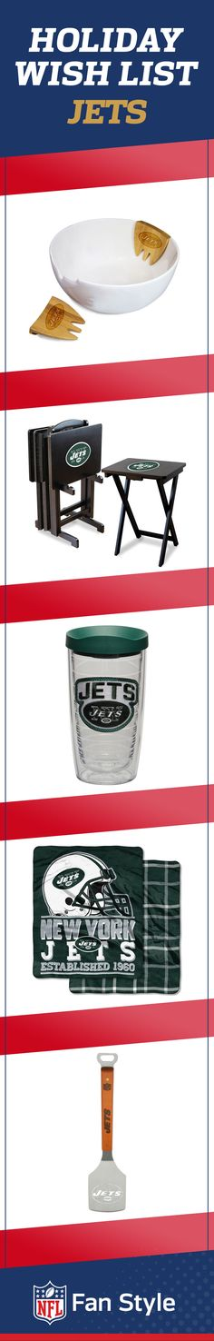 Share this holiday gift set this year to earn some brownie points with your favorite New York Jets fan.