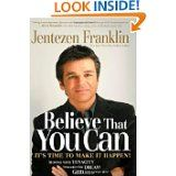 Any book by Jentezen Franklin. Take hold of Your Dream changed my life...love it!
