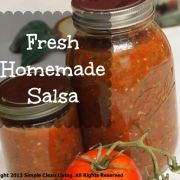 clean eating salsa recipe | Simple Clean Living
