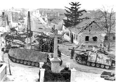 Hungary January 5 1945 Totenkopf Division during their attack on the village of Szomor ( KONRAD 1)
