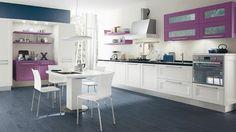 I colori in cucina rendo l'ambiente vivace ed allegro. Ecco alcuni abbinamenti da applicare per la realizzazione della vostra Lube. #Lube #arredo #design #CucineLubeTorino #Cucine #Lube