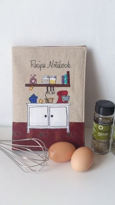 Recipe Notebook  Recipe Journal  Cook's Notebook  by RubyPatch