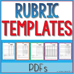 Blank Rubric Template  Point Rubric Worksheet  Gs