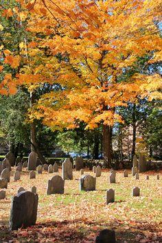 New England graveyard | New England Living
