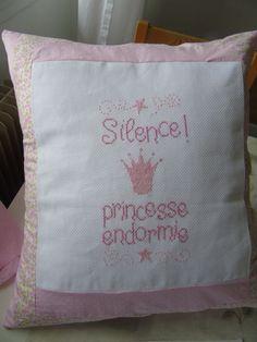 Coussin Princesse.