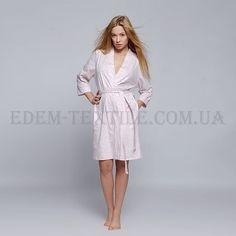 Халат женский трикотажный Sensis Karen розовий    Ткань: мягкий эластичный трикотаж Состав: 100 % хлопок Производитель: Польша