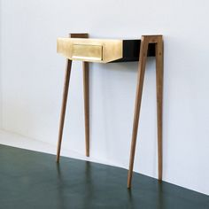 Console side table from the fifties by unknown designer for unknown producer