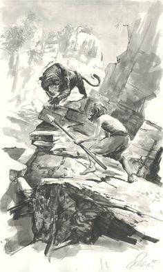 Conan: Born on the Battlefield Comic Art