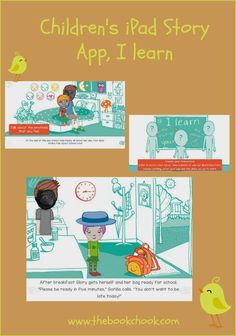 The Book Chook: Children's iPad Story App, I learn #ece